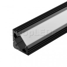 Алюминиевый Профиль PDS45-T-2000 ANOD Black RAL9005