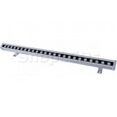 Прожектор уличный LED, линейный, RGB, 30W,  DC24V, 24 диода, 2160 Lm, IP65.  NEON-NIGHT
