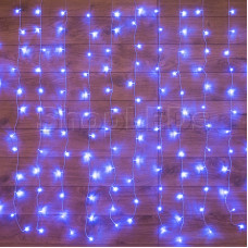 Гирлянда Твинкл Лайт 15 м, темно-зеленый ПВХ, 120 LED, цвет синий