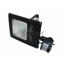 SMD SLIM 30W 220V IP65 White с датчиком